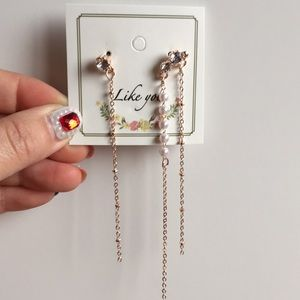 Long fashion earrings